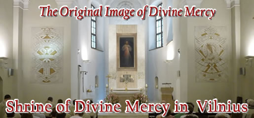 Divine Mercy Shrine Vilnius