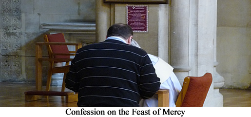 Preparation for Feast of Mercy