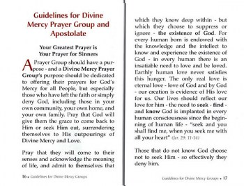 Be Apostles of Divine Mercy
