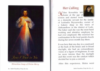 Devotion to St. Faustina