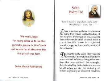 Devotion to St. Pio
