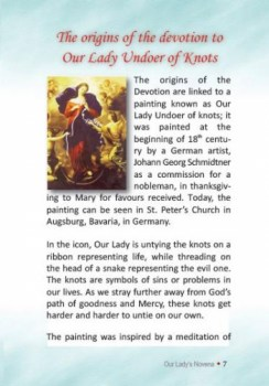 Our Lady Untier (Undoer) of Knots