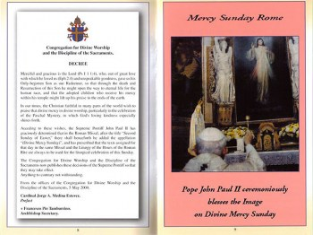 Mercy Sunday - I Need My Priests