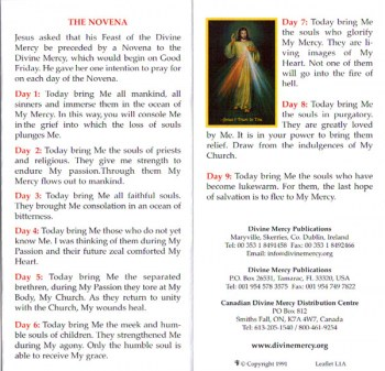 Devotion to the Divine Mercy