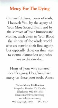 Mercy for the Dying
